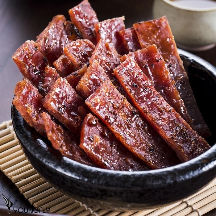 【巧福珍】黑胡椒肉乾 150g/包