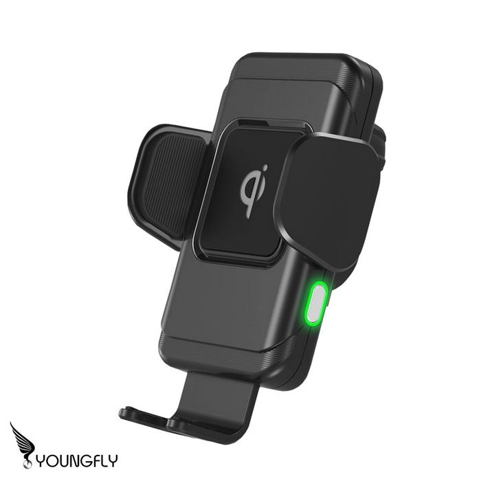 YoungFly 感應式Qi無線充電車用支架