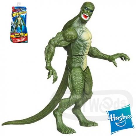 【玩具森林】[蜘蛛人Spider Man]驚奇再起:猛爪蜥蜴人/蜥蜴博士 6吋人物組