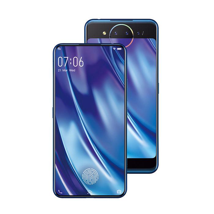 【vivo】 NEX 雙螢幕10GB/128GB三鏡頭手機(冰原藍)