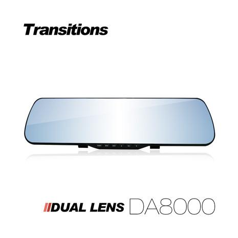全視線 DA8000 1080P 雙鏡頭後視鏡行車記錄器