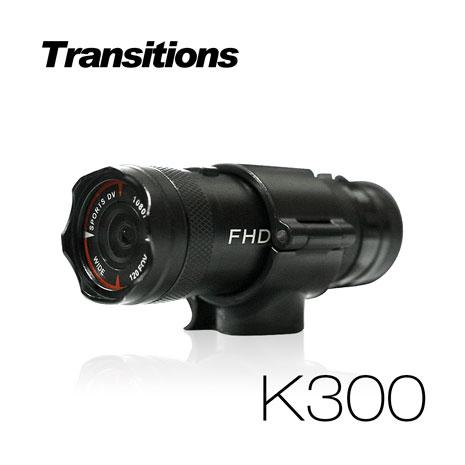 全視線K300 超廣角120度防水型1080P 極限運動 機車行車記錄器
