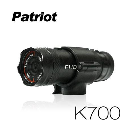 愛國者K700 超廣角120度防水型1080P 極限運動 機車行車記錄器