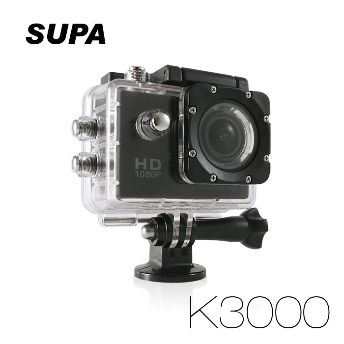 速霸 K3000 Full HD 1080P 極限運動防水型 行車記錄器