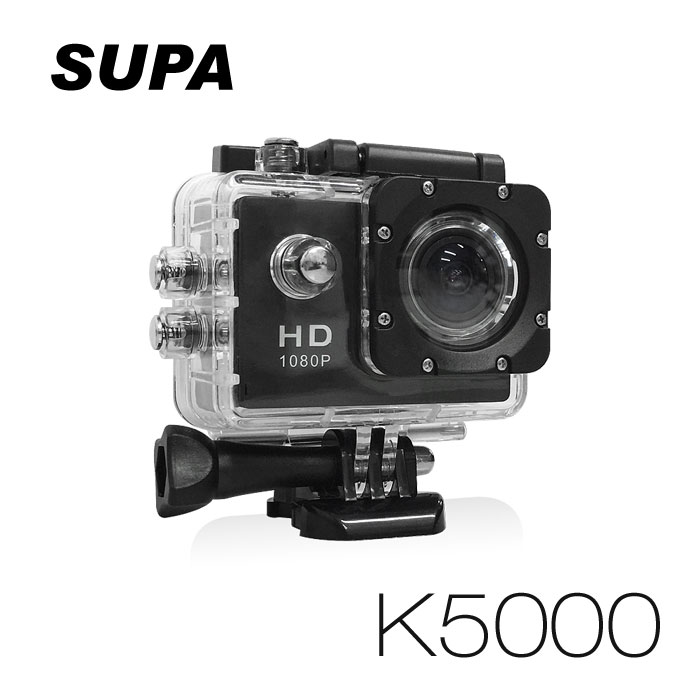 速霸 K5000 Full HD 1080P 極限運動防水型 行車記錄器