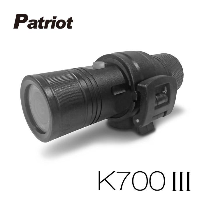 愛國者 K700 III 三代 超廣角170度防水型1080P 極限運動 機車行車記錄器