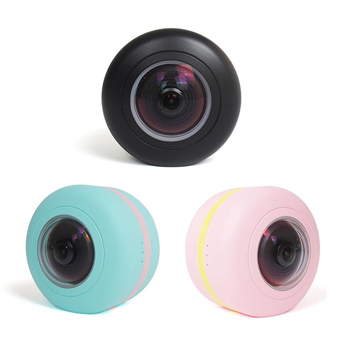 360 多功能遠端監控環景相機粉色