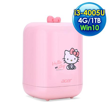 ACER Revo One RL85 Hello Kitty 迷你桌上型電腦(i3-4005U /4G/1TB/Win 10)
