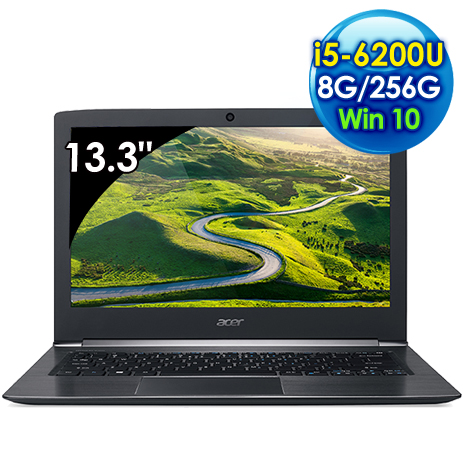 【全新出清品】Acer S5-371-50VC (i5-6200U/13.3吋FHD/8G/256G SSD/Win 10)