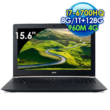 【全新出清品】Acer VN7-592G-780P (i7-6700HQ /15.6吋FHD/8G/128G SSD+1TB/GTX 960M 4G獨顯/Win 10)