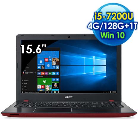 Acer E5-575G-51RQ (i5-7200U 雙核心/15.6吋FHD/4G/128G SSD+1TB/940MX 2G獨顯/Win 10)