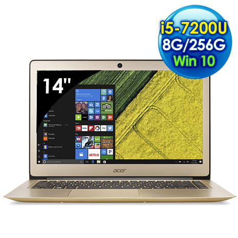 Acer SF314-51-50K6  (i5-7200U/14吋FHD/8G/256G SSD/Win 10)