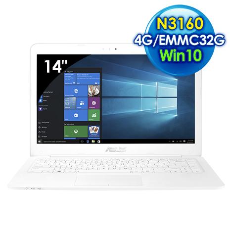 ASUS L402SA-0042AN3160 (14吋/N3160/4G/EMMC 32GB/Win10)