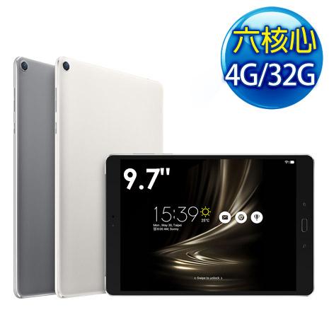 ASUS ZenPad 3s 10 Z500M 9.7吋 4G/32G WiFi 六核心 平板電腦完美銀