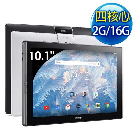 Acer Iconia One 10 B3-A40 10.1吋 2G/16G WiFi 四核心 平板電腦-白色