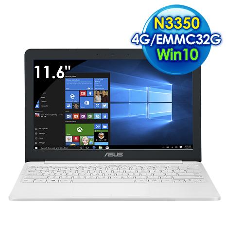 ASUS E203NA-0021AN3350 (11.6吋/N3350/4G/EMMC 32GB/Win10)