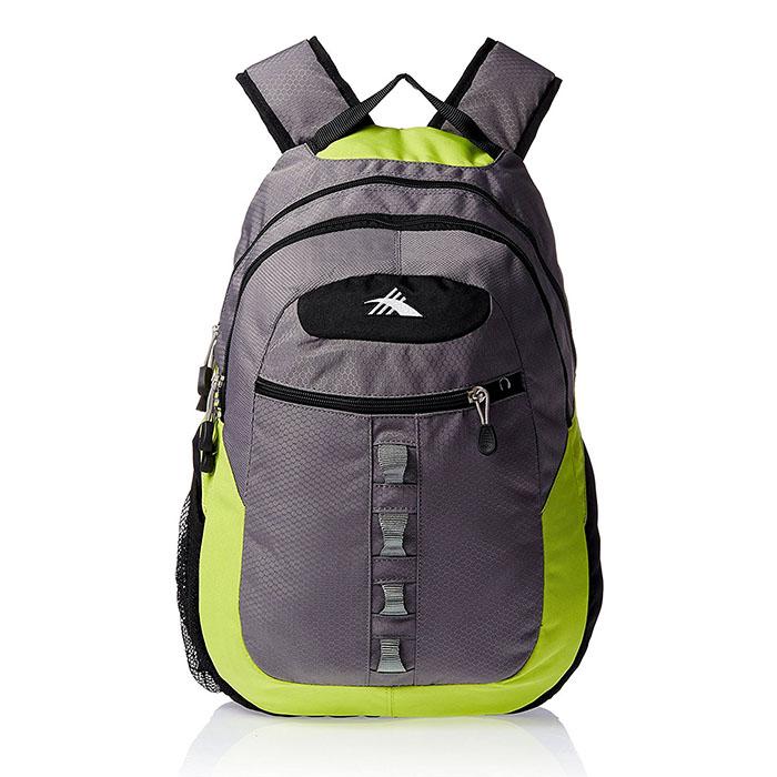 HIGH SIERRA美國戶外運動用品OPIE V2 BACKPACK戰術背包-後背包-運動背包新秀麗-灰亮黃22H-38001