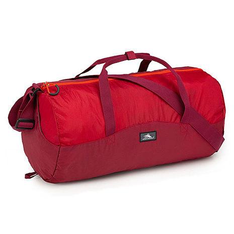 HIGH SIERRA  高山包PACK-N-GO 2 18L DUFFEL IN A BOTTLE收納式多功能旅行袋運動背包18L-紅色-96H-YP003【禾雅時尚】