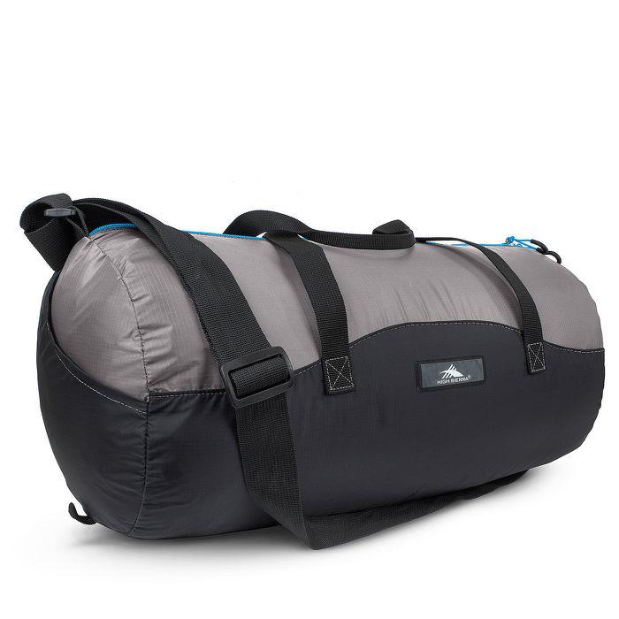 HIGH SIERRA 高山包 PACK-N-GO 2 18L DUFFEL IN A BOTTLE收納式多功能旅行袋運動背包18L -藍黑灰配色-96H-YM003【禾雅】