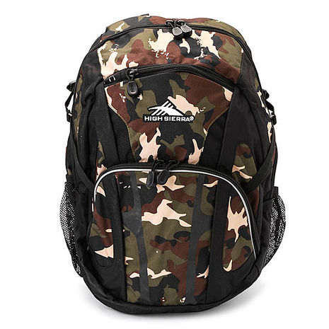 HIGH SIERRA 高山包Composite Backpack 大容量後背包 登山包 休間包-迷彩-H04-ZB034【禾雅】