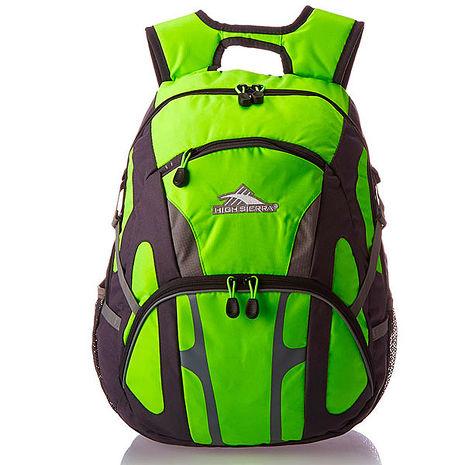 HIGH SIERRA 高山包 Composite Backpack 大容量後背包 登山包 休間包-螢光黃限定版-H04-ZA034 【禾雅時尚】