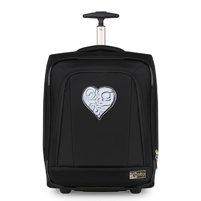 GOBY 果比Love 系列-20吋四輪行李箱-L20-櫻桃黑L201