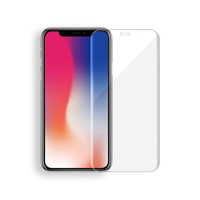 iPhone X 5.8吋 3D全膠滿版9H鋼化透明玻璃保護貼
