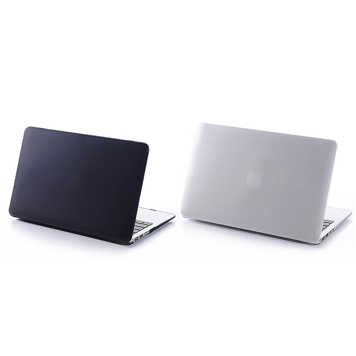【SHOWHAN】Apple MacBook Pro Retina 13吋磨砂保護殼 (兩色可選)磨砂黑