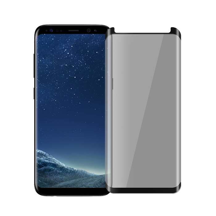SSTAR SAMSUNG Galaxy S8/S9 高透防窺 縮小版3D曲面鋼化保護貼/黑色