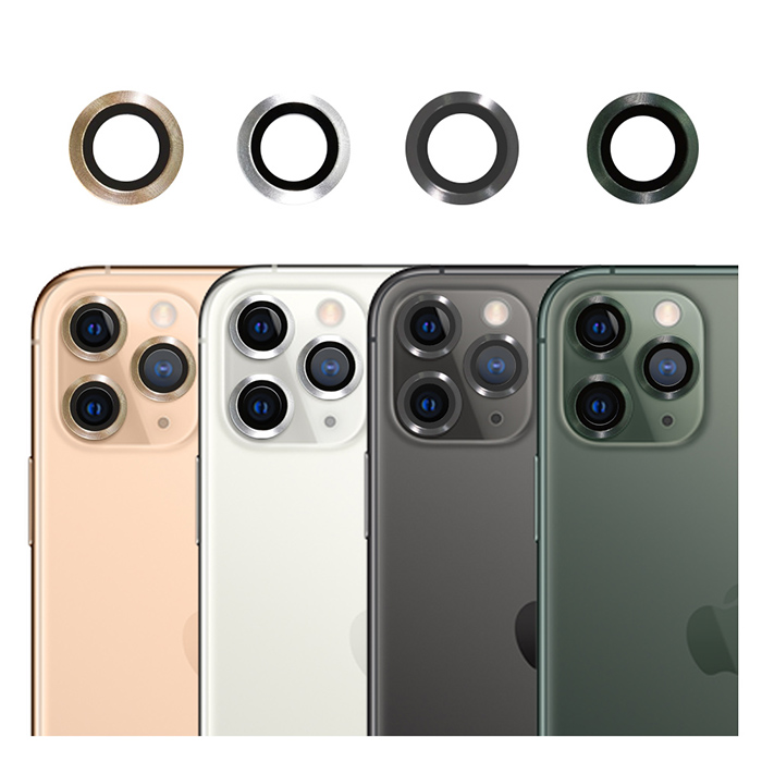 imos iPhone11 Pro/Pro Max 藍寶石 鏡頭保護鏡/四色