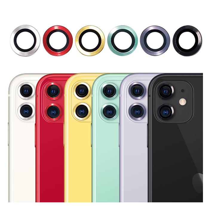 imos iPhone11 藍寶石 鏡頭保護鏡/六色可選