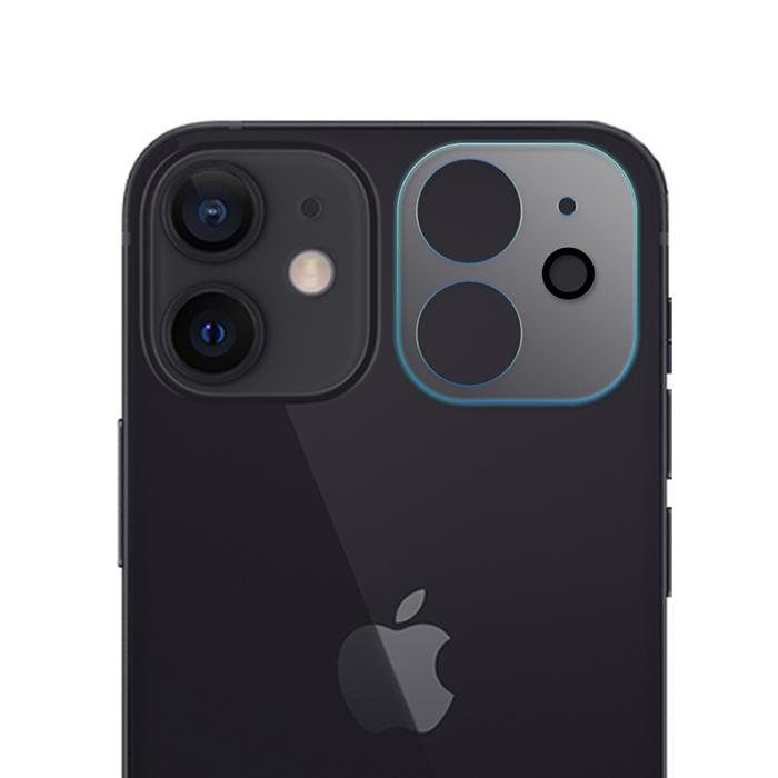 【SHOWHAN】iPhone 12 mini (5.4吋)3D立體透明全包覆 高硬度抗刮鏡頭專用保護貼