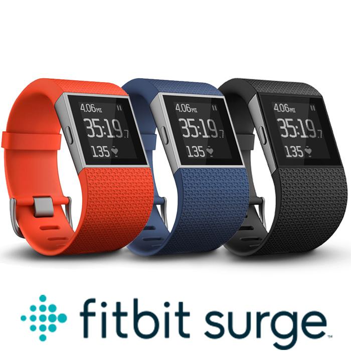 Fitbit Surge 智能樂活全能運動手錶 ★內建心率+GPS紀錄★