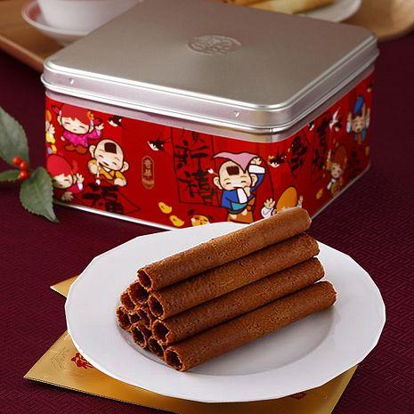[奇華好禮]咖啡雞蛋捲2盒組(340g/盒 附提袋)
