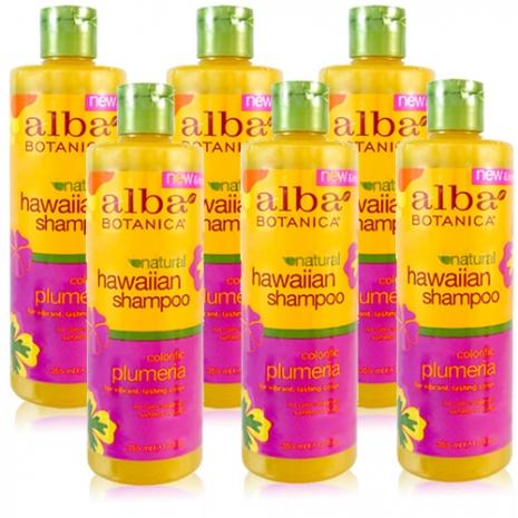 Alba 雞蛋花護色保濕洗髮精六入組 (355mlX6)