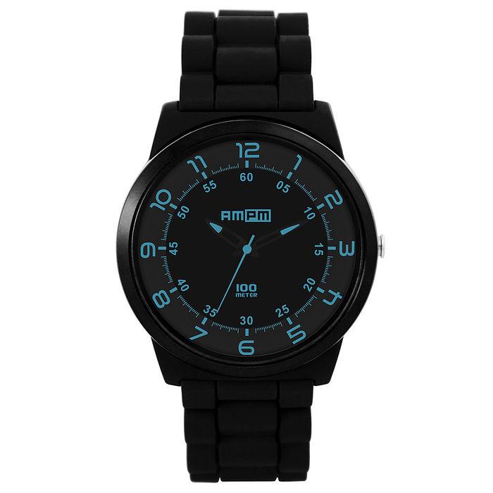 日本AMPM 經典黑潮B系列腕錶