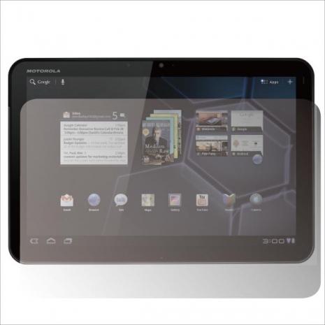 ZIYA Motorola XOOM 抗刮亮面螢幕保護貼2入
