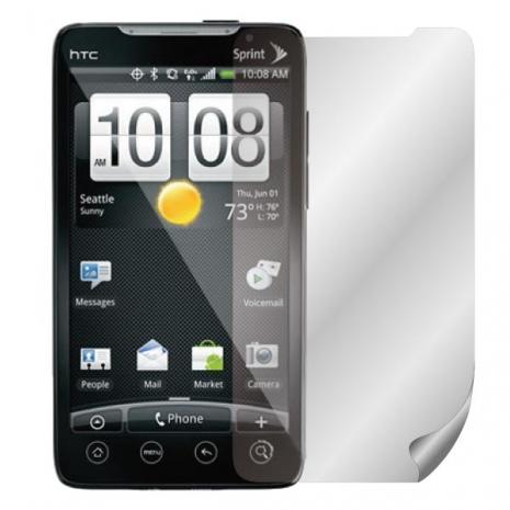 ZIYA HTC EVO 4G 抗反射(霧面/防指紋)螢幕保護貼- 兩入-手機平板配件-myfone購物