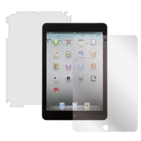 ZIYA Apple iPad Mini抗刮亮面螢幕機身背面保護貼組