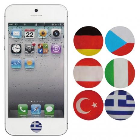 [ZIYA] iPhone/ iPod/ iPad Home Button按鍵貼-異國風情