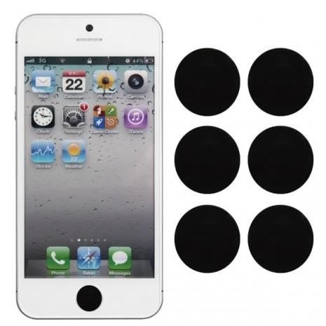 [ZIYA] iPhone/ iPod/ iPad Home Button按鍵貼-黑白色系