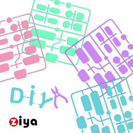[ZIYA] 筆記型電腦 桌上型電腦 防塵孔塞 -繽紛糖果色 (兩組入)草莓粉