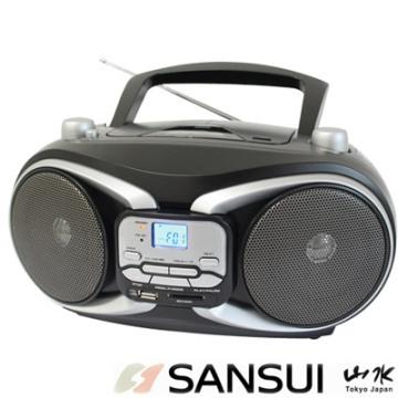 SANSUI山水 CD/MP3/USB/SD/AUX手提式音響(SB-88N)
