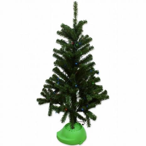 水能源綠色環保LED彩燈4呎聖誕樹(KT-125)