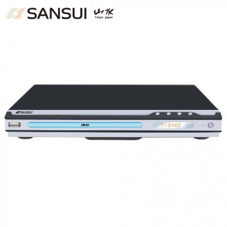 SANSUI山水USB/MPEG4/DVD影音光碟播放機(DVD-258)