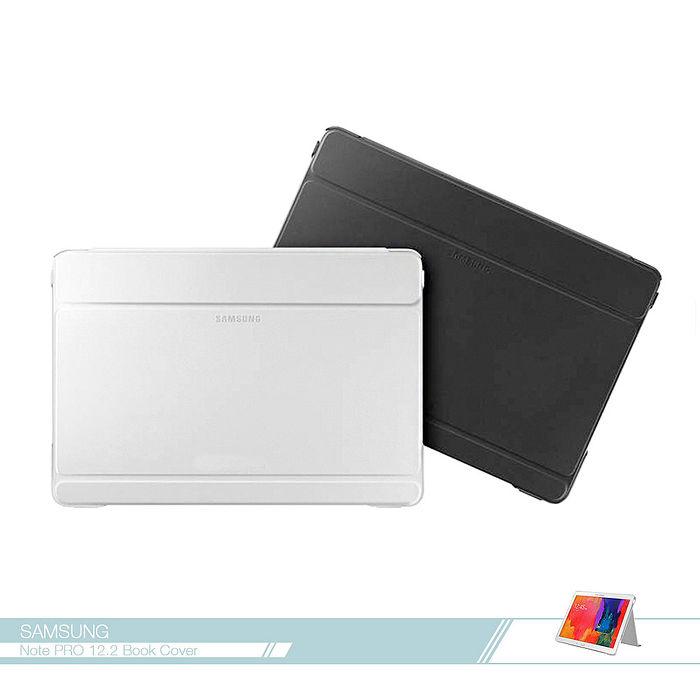 Samsung三星 原廠Galaxy Note Pro 12.2吋專用 商務式皮套 /翻蓋書本式保護套 /摺疊側翻平板套 /休眠 喚醒白色