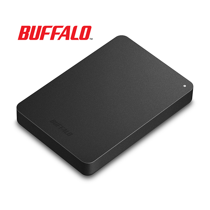 BUFFALO巴比祿 2.5吋防震加密1TB行動硬碟 HD-PNFU3黑