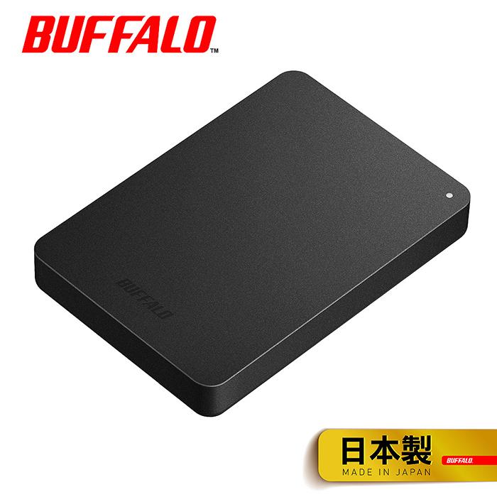 (活動促銷)BUFFALO巴比祿 2.5吋防震加密2TB行動硬碟 HD-PNFU3 (黑)