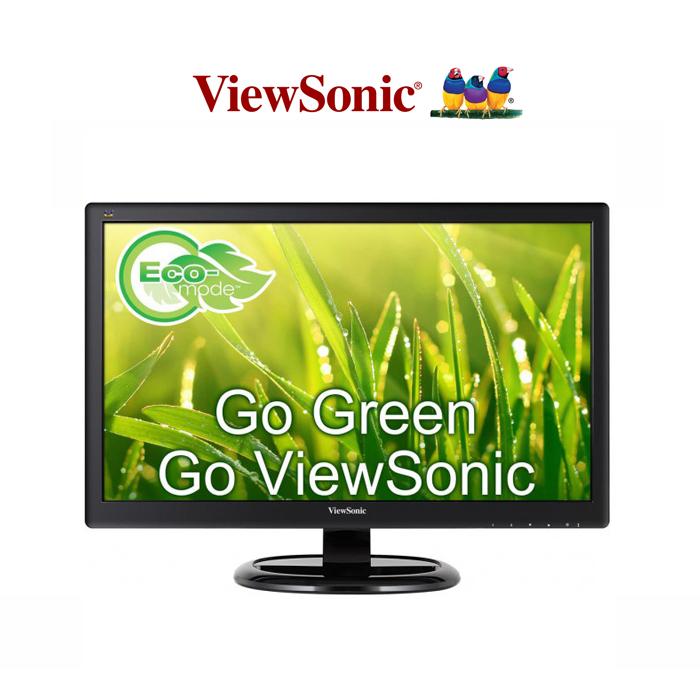 ViewSonic 優派 VA2465Smh 24型VA面板雙介面抗藍光零閃頻液晶螢幕