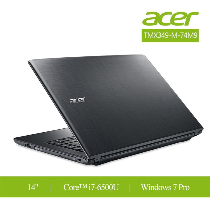 Acer TravelMateX3 14吋/i7/win7 pro/1.56公斤 輕薄筆電TMX349-M-74M9